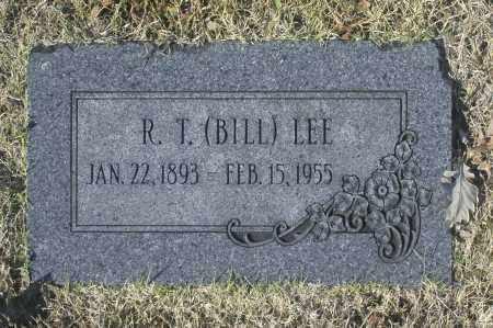 LEE, R. T. (BILL) - Washington County, Oklahoma | R. T. (BILL) LEE - Oklahoma Gravestone Photos