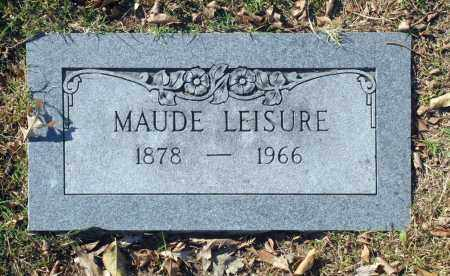 LEISURE, MAUDE - Washington County, Oklahoma | MAUDE LEISURE - Oklahoma Gravestone Photos