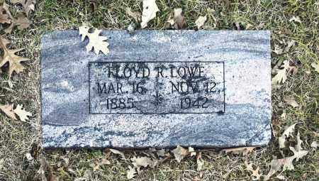 LOWE, FLOYD R - Washington County, Oklahoma | FLOYD R LOWE - Oklahoma Gravestone Photos