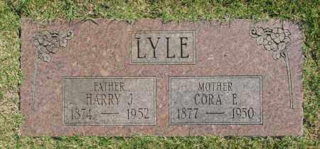 LYLE, CORA E. - Washington County, Oklahoma | CORA E. LYLE - Oklahoma Gravestone Photos
