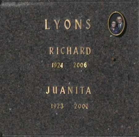 LYONS, JUANITA - Washington County, Oklahoma | JUANITA LYONS - Oklahoma Gravestone Photos
