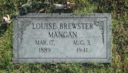 MANGAN, LOUISE - Washington County, Oklahoma | LOUISE MANGAN - Oklahoma Gravestone Photos