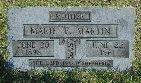 MARTIN, MARIE E. - Washington County, Oklahoma   MARIE E. MARTIN - Oklahoma Gravestone Photos