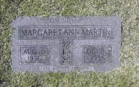 MARTIN, MARGARET ANN - Washington County, Oklahoma | MARGARET ANN MARTIN - Oklahoma Gravestone Photos