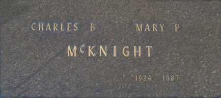 MC KNIGHT, CHARLES B - Washington County, Oklahoma | CHARLES B MC KNIGHT - Oklahoma Gravestone Photos