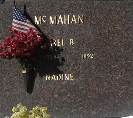 MC MAHAN, NADINE - Washington County, Oklahoma | NADINE MC MAHAN - Oklahoma Gravestone Photos