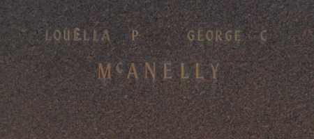 MCANELLY, GEORGE C - Washington County, Oklahoma | GEORGE C MCANELLY - Oklahoma Gravestone Photos