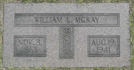 MCKAY, WILLIAM L. - Washington County, Oklahoma | WILLIAM L. MCKAY - Oklahoma Gravestone Photos
