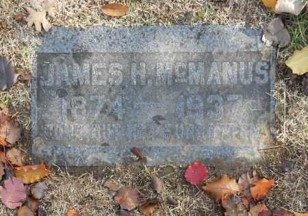 MCMANUS, JAMES H - Washington County, Oklahoma | JAMES H MCMANUS - Oklahoma Gravestone Photos