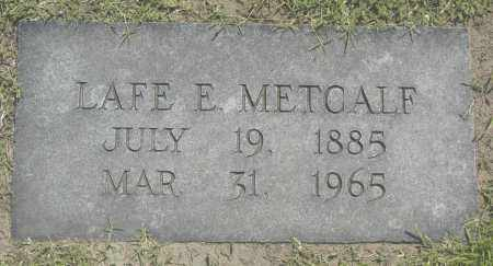 METCALF, LAFE E. - Washington County, Oklahoma | LAFE E. METCALF - Oklahoma Gravestone Photos