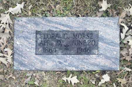 MORSE, FLORA G - Washington County, Oklahoma | FLORA G MORSE - Oklahoma Gravestone Photos