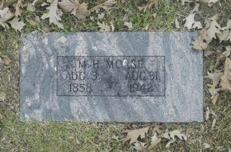 MORSE, M H - Washington County, Oklahoma | M H MORSE - Oklahoma Gravestone Photos