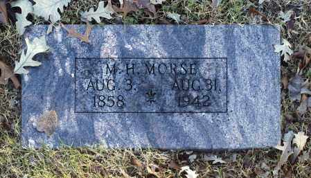 MORSE, M H - Washington County, Oklahoma | M H MORSE - Oklahoma Gravestone Photos