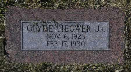 HEGWER, CLYDE JR. - Washington County, Oklahoma   CLYDE JR. HEGWER - Oklahoma Gravestone Photos
