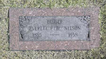 NELSON, EVERETT PETE - Washington County, Oklahoma | EVERETT PETE NELSON - Oklahoma Gravestone Photos