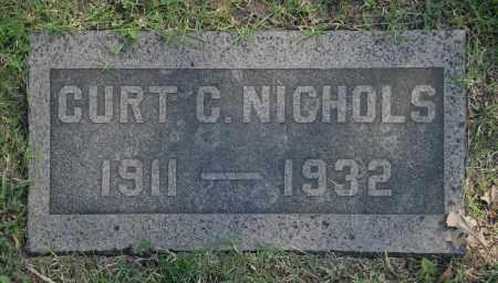 NICHOLS, CURT C. - Washington County, Oklahoma   CURT C. NICHOLS - Oklahoma Gravestone Photos