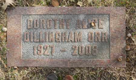 DILLINGHAM ORR, DOROTHY ALICE - Washington County, Oklahoma   DOROTHY ALICE DILLINGHAM ORR - Oklahoma Gravestone Photos