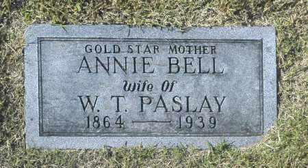 PASDLAY, ANNIE BELL - Washington County, Oklahoma   ANNIE BELL PASDLAY - Oklahoma Gravestone Photos