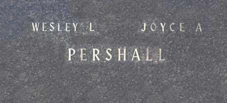 PERSHALL, JOYCE A - Washington County, Oklahoma | JOYCE A PERSHALL - Oklahoma Gravestone Photos