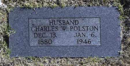 POLSTON, CHARLES W - Washington County, Oklahoma | CHARLES W POLSTON - Oklahoma Gravestone Photos