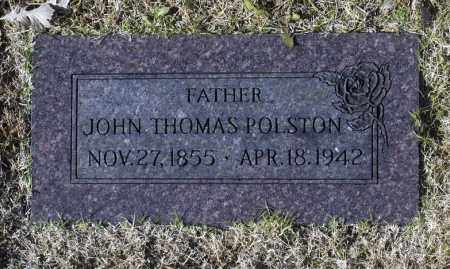 POLSTON, JOHN THOMAS - Washington County, Oklahoma | JOHN THOMAS POLSTON - Oklahoma Gravestone Photos