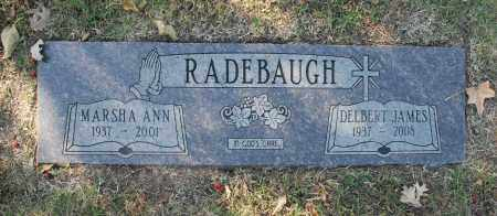 RADEBAUGH, MARSHA ANN - Washington County, Oklahoma | MARSHA ANN RADEBAUGH - Oklahoma Gravestone Photos