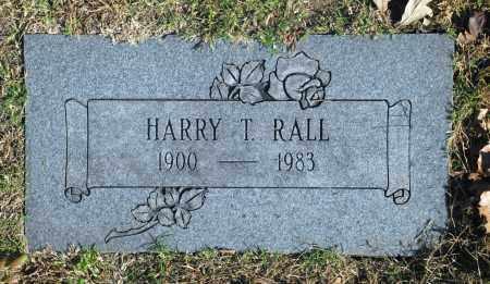 RALL, HARRY T - Washington County, Oklahoma   HARRY T RALL - Oklahoma Gravestone Photos