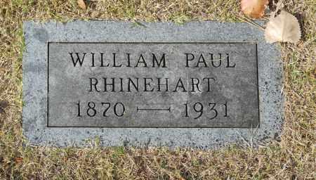 RHINEHART, WILLIAM PAUL - Washington County, Oklahoma | WILLIAM PAUL RHINEHART - Oklahoma Gravestone Photos