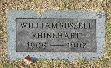 RHINEHART, WILLIAM RUSSELL - Washington County, Oklahoma   WILLIAM RUSSELL RHINEHART - Oklahoma Gravestone Photos