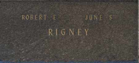 RIGNEY, JUNE S - Washington County, Oklahoma | JUNE S RIGNEY - Oklahoma Gravestone Photos