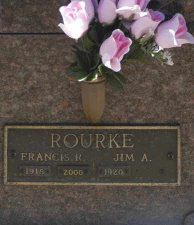 ROURKE, JIM A - Washington County, Oklahoma   JIM A ROURKE - Oklahoma Gravestone Photos