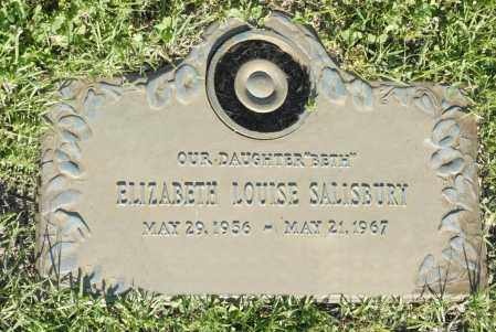 SALISBURY, ELIZABETH LOUISE - Washington County, Oklahoma | ELIZABETH LOUISE SALISBURY - Oklahoma Gravestone Photos