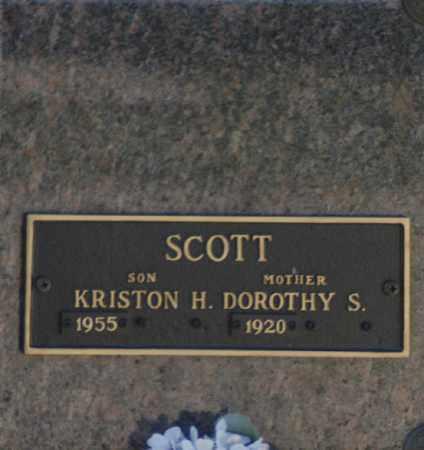 SCOTT, KRISTON H - Washington County, Oklahoma | KRISTON H SCOTT - Oklahoma Gravestone Photos