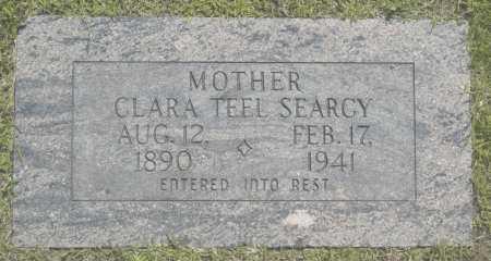 TEEL SEARCY, CLARA - Washington County, Oklahoma | CLARA TEEL SEARCY - Oklahoma Gravestone Photos