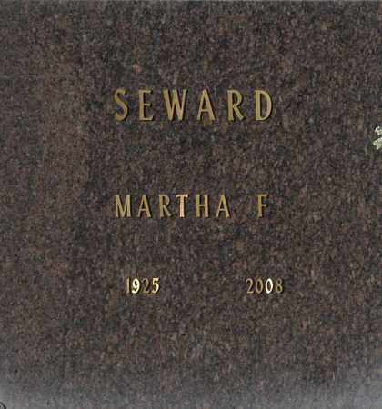 SEWARD, MARTHA F - Washington County, Oklahoma | MARTHA F SEWARD - Oklahoma Gravestone Photos