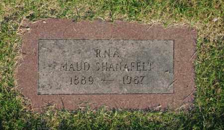 SHANAFELT, MAUD - Washington County, Oklahoma | MAUD SHANAFELT - Oklahoma Gravestone Photos