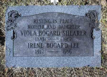 SHEARER, VIOLA BOGARD - Washington County, Oklahoma | VIOLA BOGARD SHEARER - Oklahoma Gravestone Photos