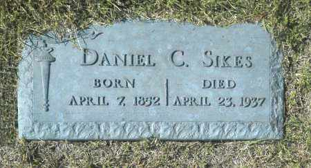 SIKES, DANIEL C - Washington County, Oklahoma   DANIEL C SIKES - Oklahoma Gravestone Photos