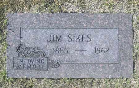 SIKES, JIM - Washington County, Oklahoma | JIM SIKES - Oklahoma Gravestone Photos