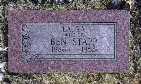 STAPP, LAURA - Washington County, Oklahoma | LAURA STAPP - Oklahoma Gravestone Photos