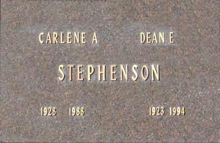 STEPHENSON, DEAN E - Washington County, Oklahoma   DEAN E STEPHENSON - Oklahoma Gravestone Photos