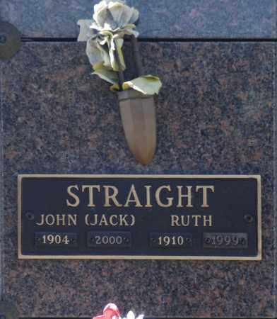 STRAIGHT, JOHN (JACK) - Washington County, Oklahoma   JOHN (JACK) STRAIGHT - Oklahoma Gravestone Photos