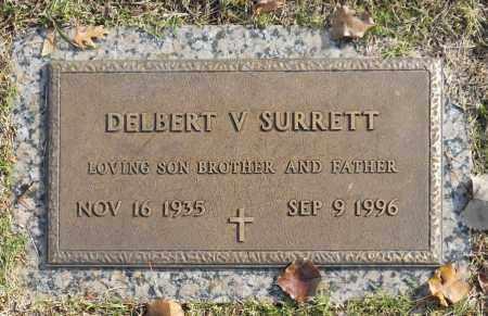SURRETT, DELBERT V - Washington County, Oklahoma | DELBERT V SURRETT - Oklahoma Gravestone Photos