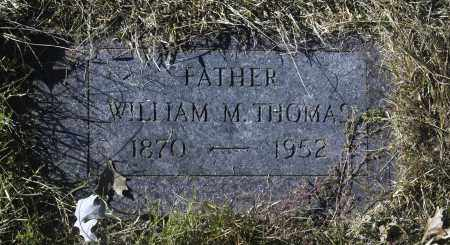 THOMAS, WILLIAM M - Washington County, Oklahoma | WILLIAM M THOMAS - Oklahoma Gravestone Photos