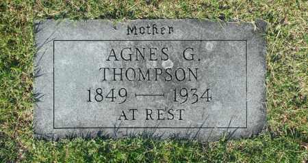 THOMPSON, AGNES G. - Washington County, Oklahoma | AGNES G. THOMPSON - Oklahoma Gravestone Photos