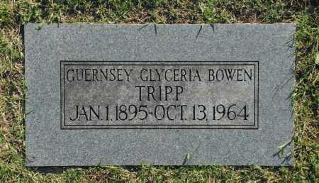TRIPP, GUERNSEY GLYCERIA - Washington County, Oklahoma | GUERNSEY GLYCERIA TRIPP - Oklahoma Gravestone Photos