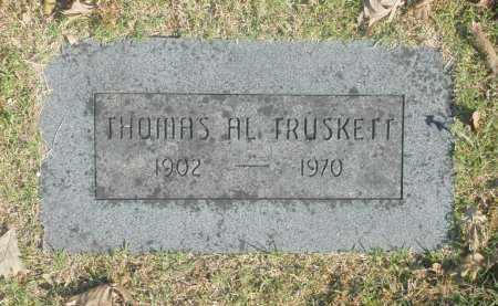 TRUSKETT, THOMAS AL - Washington County, Oklahoma | THOMAS AL TRUSKETT - Oklahoma Gravestone Photos
