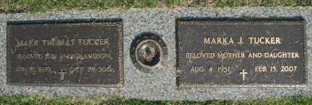 TUCKER, MARK THOMAS - Washington County, Oklahoma   MARK THOMAS TUCKER - Oklahoma Gravestone Photos