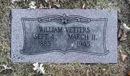 VETTERS, WILLIAM - Washington County, Oklahoma   WILLIAM VETTERS - Oklahoma Gravestone Photos