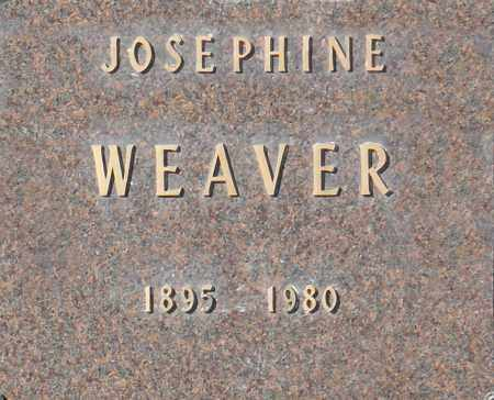 WEAVER, JOSEPHINE - Washington County, Oklahoma | JOSEPHINE WEAVER - Oklahoma Gravestone Photos